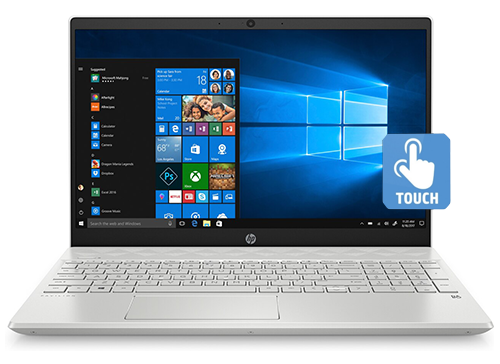 Hp Pavilion Core i5-1035G1 8GB. 256GB SSD. 15.6 inch Touchscreen